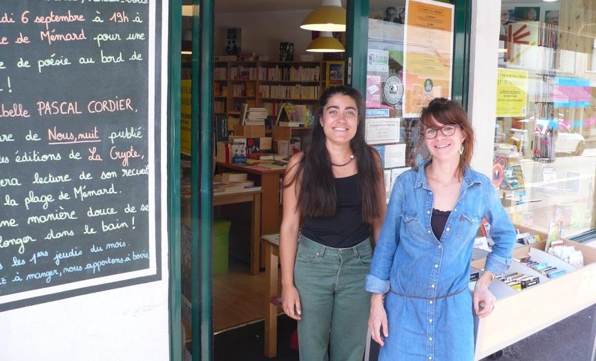 Librairie ouverte toutl'été