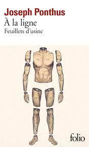A la ligne – Joseph PONTHUS,Folio